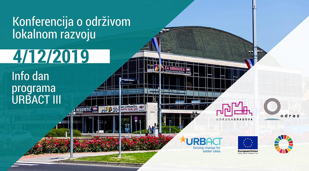 Konferencija O Odrzivom Lokalnom Razvoju Infodan Programa Urbact